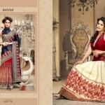 Zobi Fabrics Lehenga Sarees Collection 2013 For Women 007