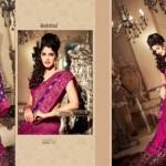 Zobi Fabrics Lehenga Sarees Collection 2013 For Women 009