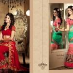 Zobi Fabrics Lehenga Sarees Collection 2013 For Women 05