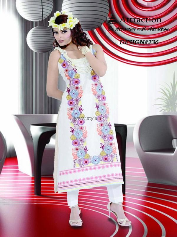 Attraction by Kamal Lawn Collection 2013 for Women