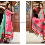 Firdous New Lawn 2013 Dresses for Girls and Women 013