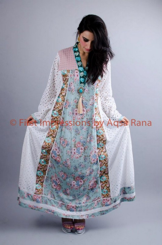 First Impression Summer Collection 2013 By Aqsa Rana 005