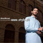 Gul Ahmed Kurta Shalwar For Men 2013 005