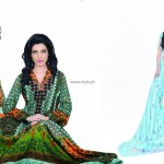 Jubilee Lawn Collection 2013 for Women and Girls 008