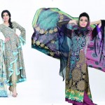 Jubilee Lawn Collection 2013 for Women and Girls 009