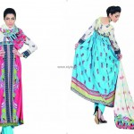 Jubilee Lawn Collection 2013 for Women and Girls 010