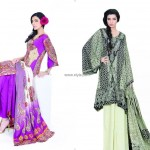 Jubilee Lawn Collection 2013 for Women and Girls 012