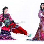 Jubilee Lawn Collection 2013 for Women and Girls 014