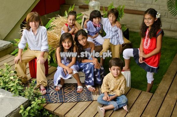Khaadi Kids Dresses For Casual Wear 2013 011