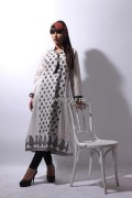 Khaadi White Dresses Collection 2013 for Women 003
