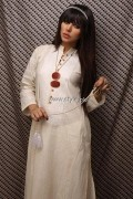 Khaadi White Dresses Collection 2013 for Women 005