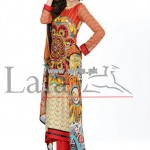 Lala Classical Crinkle Lawn Collection 2013 Volume 3 007