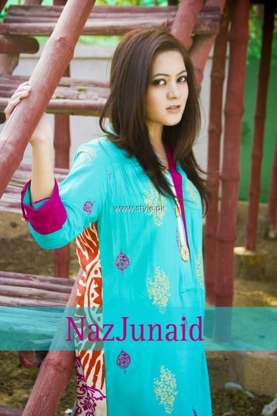 NazJunaid Summer Collection 2013 for Girls