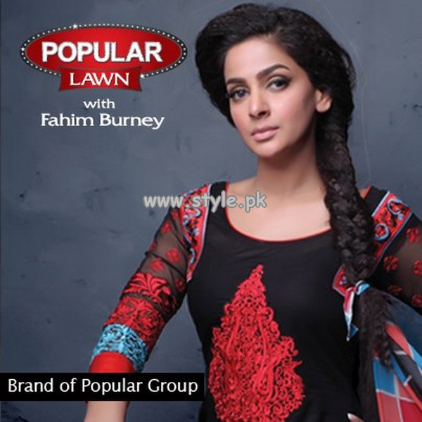 Popular Style Lawn Prints For Summer 2013 020