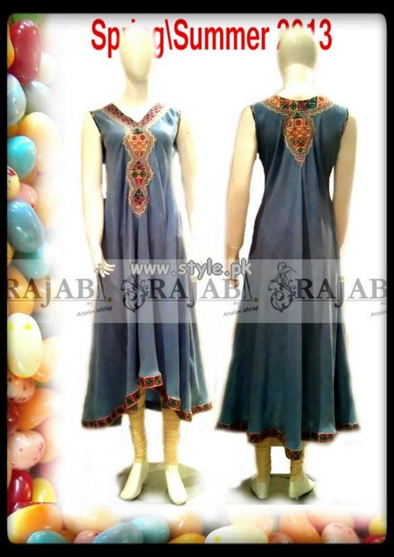 Rajab by Arsalan Ishtiaq Spring Summer Dresses 2013 002
