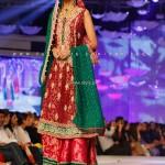 Sana Abbas Bridal Collection at BCW 2013 012