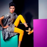 Sanam Chaudhri and Maheen Karim Dresses 2013 by Bonanza 003
