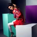 Sanam Chaudhri and Maheen Karim Dresses 2013 by Bonanza 009