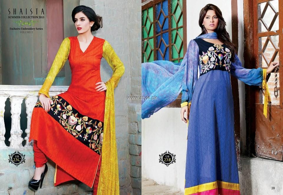 Shaista Summer 2013 Dresses Volume 2 for Women