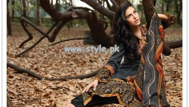 Shariq Textiles Summer 2013 Sahil Swiss Voile Collection 001