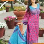 Warda Designer Collection Lawn Dresses 2013 Volume 2 002