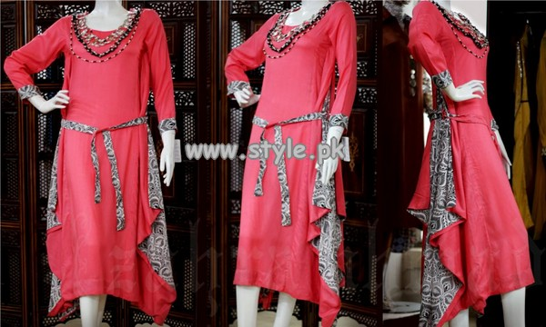 Zahra Ahmad Party Wear Collection 2013 For Summer 002