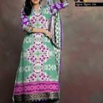 Al Hamra Textiles Ajwa Lawn Collection 2013 Volume 2 For Women 001