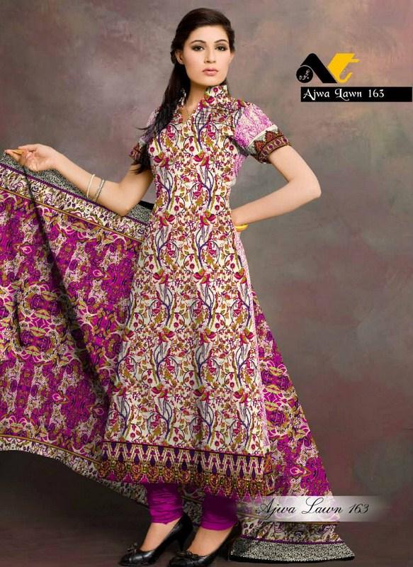 Al Hamra Textiles Ajwa Lawn Collection 2013 Volume 2 For Women 002