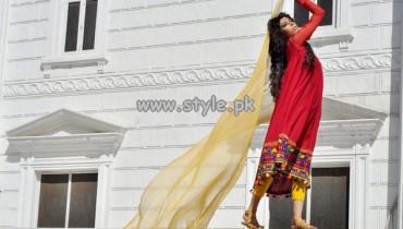 Arfa's Summer Party Wear Dresses 2013 011