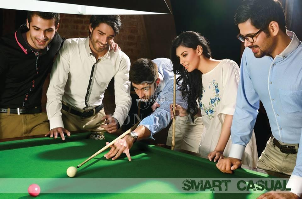 Bonanza Casual Wear Collection 2013 for Men and Women