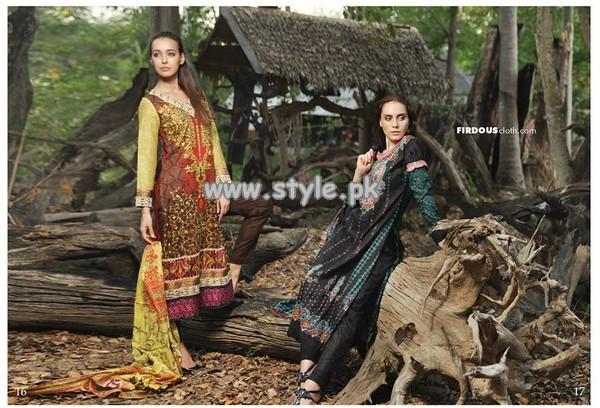 Firdous Fashion Summer Collection 2013 010