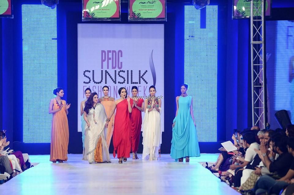 FnkAsia Collection at PFDC Sunsilk Fashion Week 2013