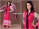 Ghani Textile New Dresses For Summer 2013 005