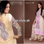 Ghani Textile New Dresses For Summer 2013 010