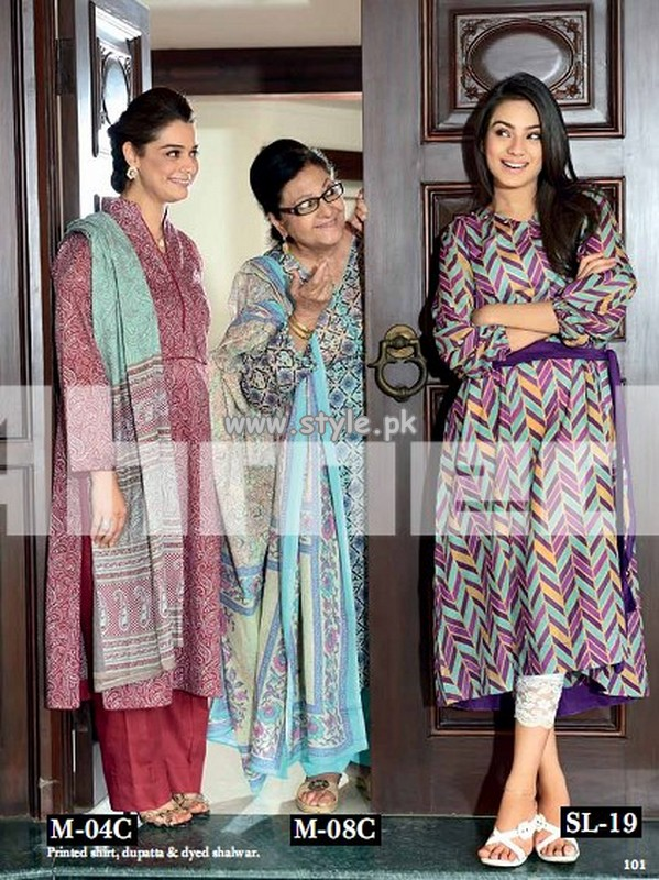 Gul Ahmed Summer Collection For Women 2013 005