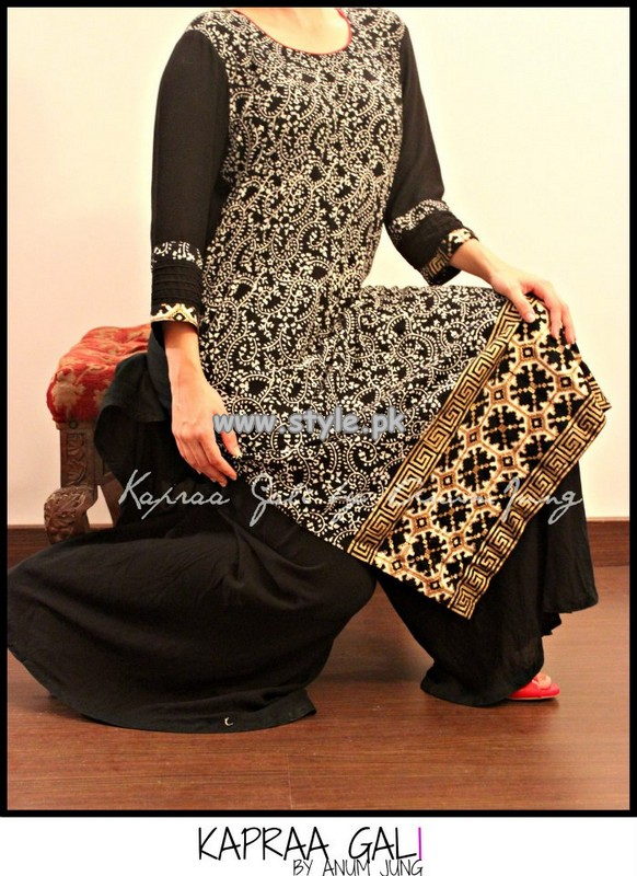 Kapraa Gali by Anum Jung Summer Collection 2013 For Girls 009