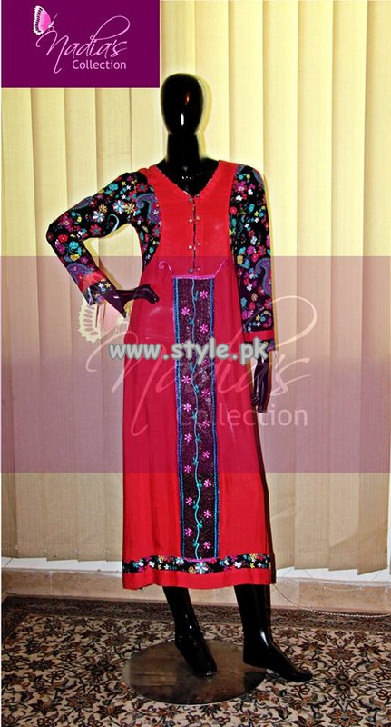 Nadia's Collection Casual Wear Collection 2013 For Girls 001