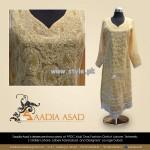 Saadia Asad Party Wear Dresses 2013 For Summer 005