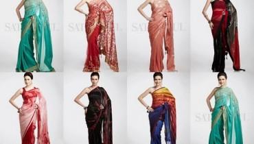 Satya Paul Saree Collection 2013 For Women 002