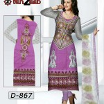 Shahzeb Designer Lawn Collection 2013 For Women 001