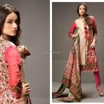 Shariq Textiles Riwaj Lawn 2013 volume 3 for Women 005