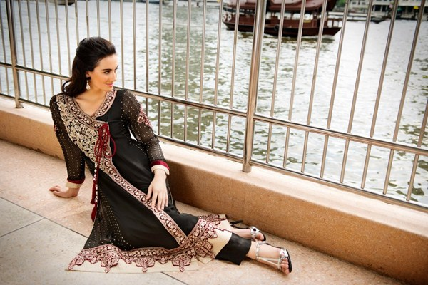 Threads And Motifs Party Wear Collection 2013 For Women 008