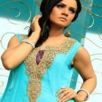 Wajahat Mansoor Semi-formal Wear Dresses 2013 003