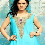 Wajahat Mansoor Semi-formal Wear Dresses 2013 005