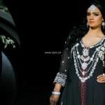 Wajahat Mansoor Semi-formal Wear Dresses 2013 007
