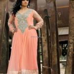 Wajahat Mansoor Semi-formal Wear Dresses 2013 008