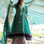 Wajahat Mansoor Semi-formal Wear Dresses 2013 009