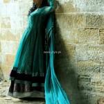 Wajahat Mansoor Semi-formal Wear Dresses 2013 011