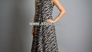 Zari Faisal Summer Party Dresses For Women 2013 011