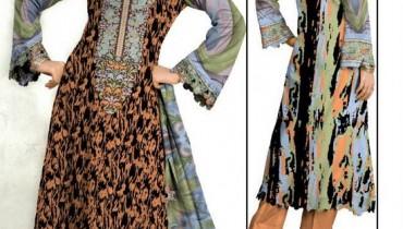 Al-Hamra Textiles Kashish Lawn Collection 2013 Volume 3 For Women